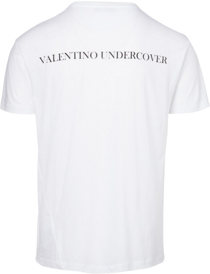 Valentino X Undercover Go Skull Whtie T Shirt