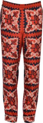 Valntino Red Bandana Pants