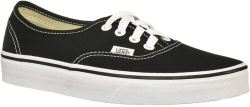 Black 'Authentic' Skate Shoe