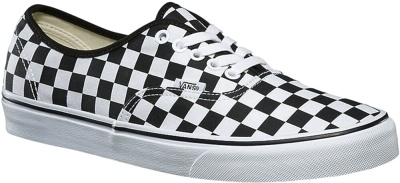 Vans Black White Checkerboard Sneakers