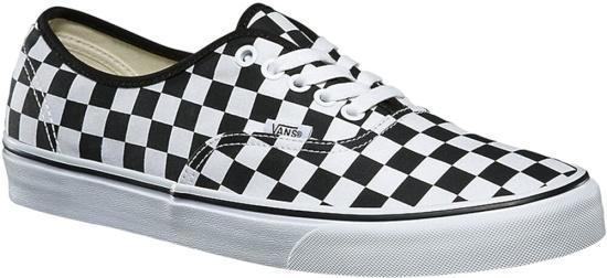 Vans Black White Checkerboard Sneakers