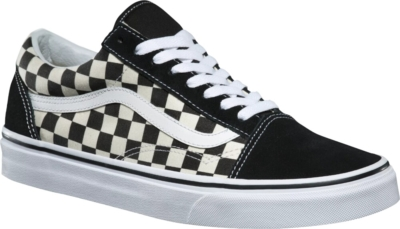Vans Black Whtie Check Sneakers