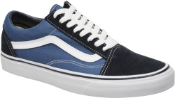 Two-Tone Blue 'Old Skool' Skate Shoe