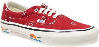 Vans Og Red Paisley Sneakers
