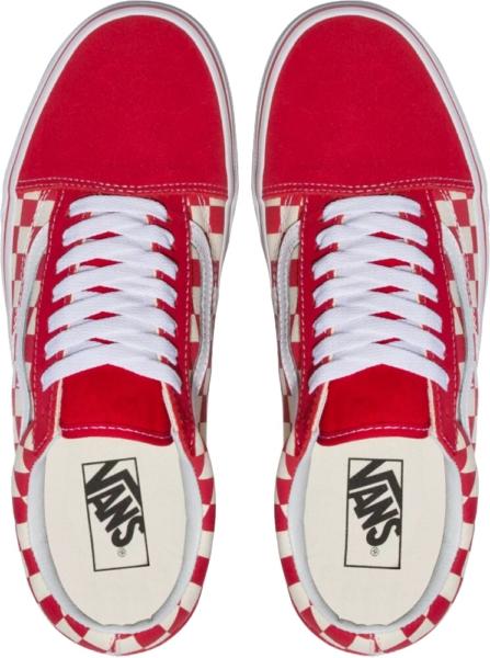 Vans Red Check Sneakers