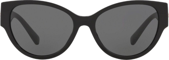 Versace Black Cateye Mesussa Sunglasses