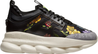 Versace Black Floral Chain Reaction