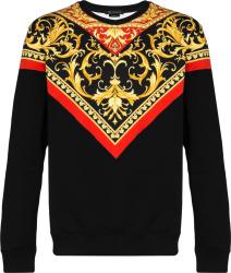 Versace Black Le Pop Sweatshirt