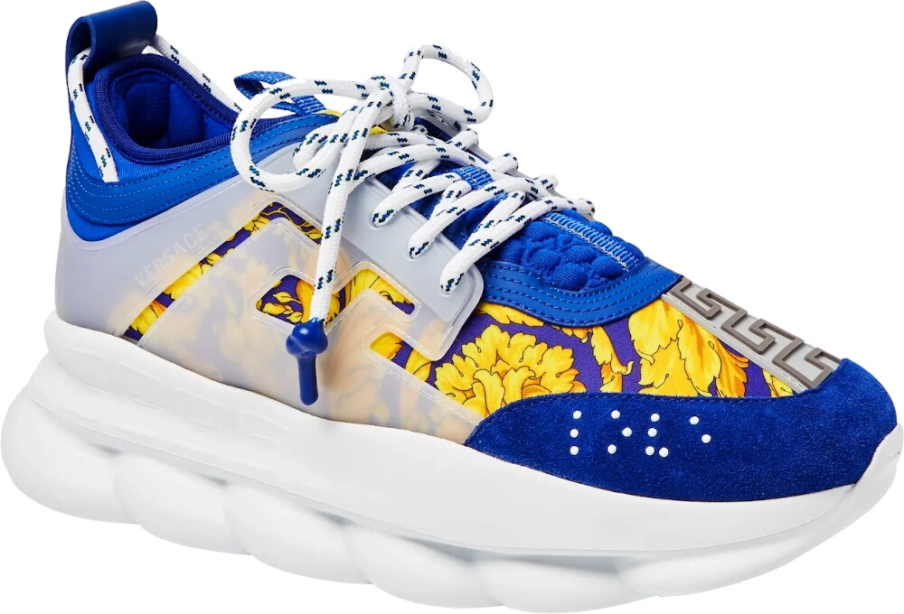 Blue & Baroque 'Chain Reaction' Sneakers
