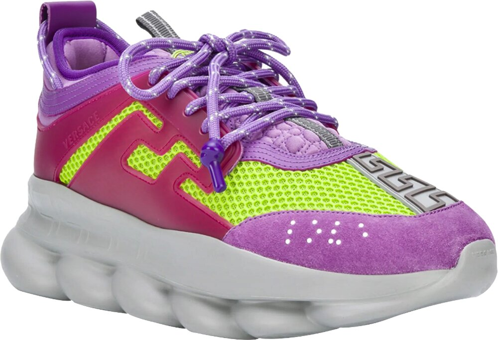 Versace Chain Reaction Purple Yellow