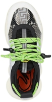 Snake Skin Print Chain Reaction Sneakers