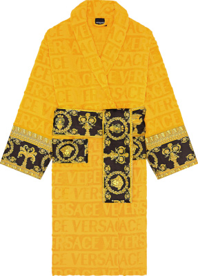 Versace Gold Baroque Robe