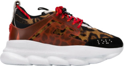 Versace Leopard Print Chain Reaction