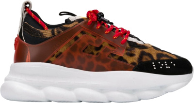 Versace Leopard Print Chain Reaction