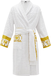 Versace White I Love Baroque Bath Robe