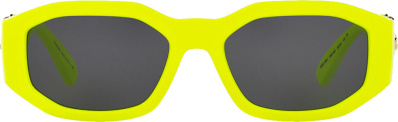 Versace Yellow Biggie Medusa Sunglasses