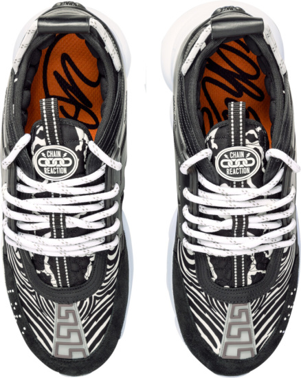 Versace Zebra Print Sneakers