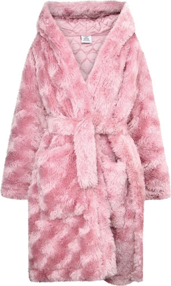 Vetements Pink Fur Coat
