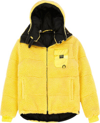 Vfiles Yellow Puffer Jacket