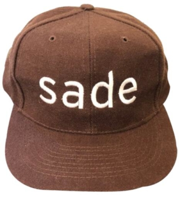 Vintage Brown Sade Hat
