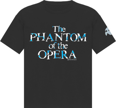 Vintage Phantom Of The Opera Black T Shirt