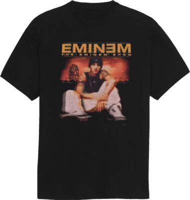 Vintage The Eminem Show Black Merch T Shirt