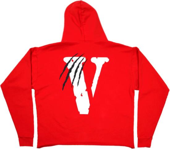 Vlone Red Panther Hoodie