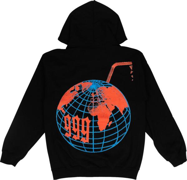 Vlone X Juice Wrld Logo Globe Hoodie