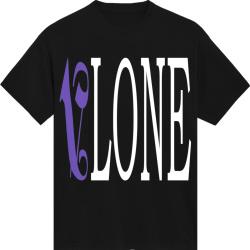 Vlone X Palm Angels Black Logo T Shirt