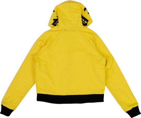 Vlone Yellow Canvas Hoodie