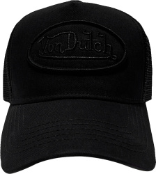 Von Dutch All Black Trucker Hat