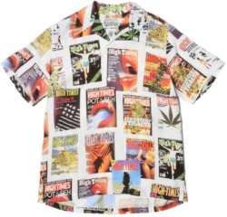 Wacko Maria X High Times Magazine Cover Print Shirt