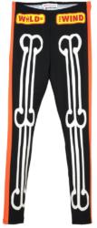 Walter Van Beirendonck Black Skeleton Print Leggings Worn By Lil Uzi Vert