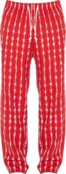 Warren Lotas Red Barb Wire Pants