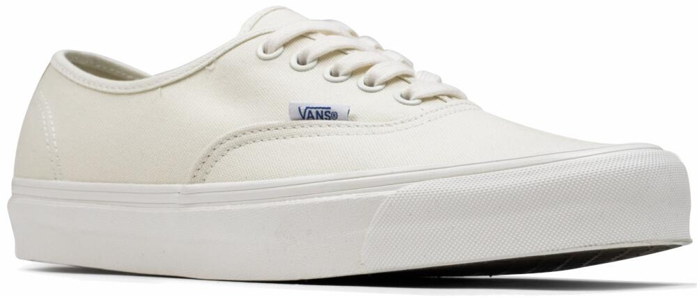 White And Beige Vans Sneakers