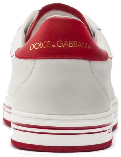 White And Red Dolce Gabbana Sneakers