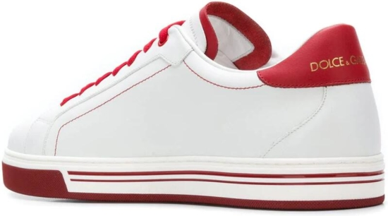 White And Red Gucci Mane Sneaekers