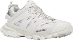 White Balenciaga Track Trainers
