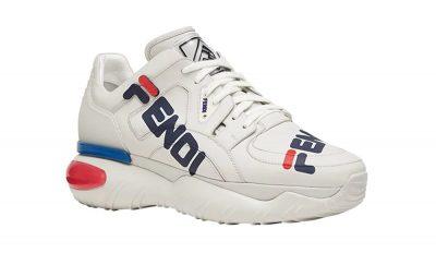 White Fendi Man A Sneakers Worn By Swae Lee In Instagram Photo
