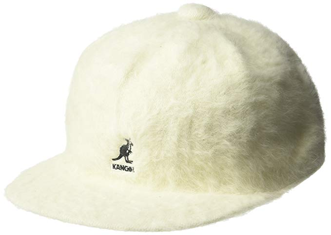 White Fuzzy Kangol Hat Worn By Asap Ferg