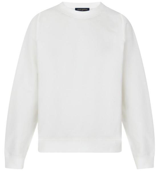 c8e3c31ff White Louis Vuitton Staples Edition Inside Out Sweatshirt