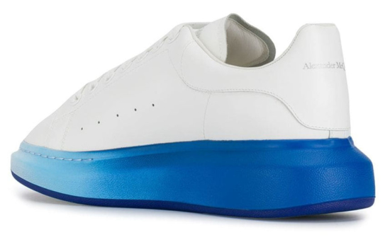Alexander McQueen Blue Fade Sole Oversized Sneakers