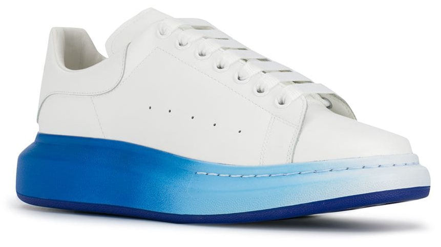 White Sneakers With Blue Soles Worn By Rich The Kid In Save That Music Video