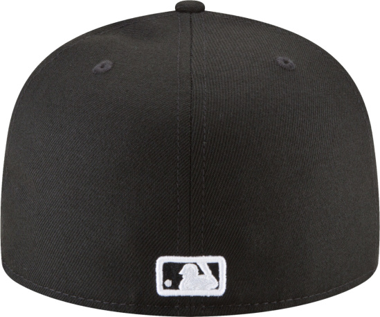 White Sox Black 59fifty Fitted Hat