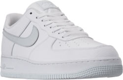Whtie And Grey Nike Air Force 1 07 Sneakers