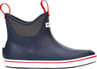 Xtratuf Navy Blue Deck Boots