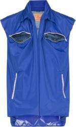 Y Project Double Layer Blue Vest