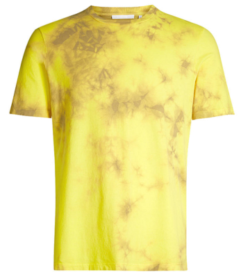 Ybn Almighty Yellow And Brown Tie Dye T Shirt