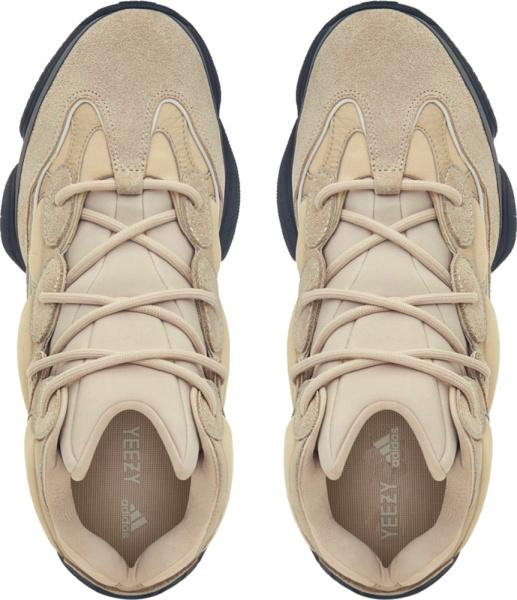 Yeezy 500 High Beige Sneaker Boots
