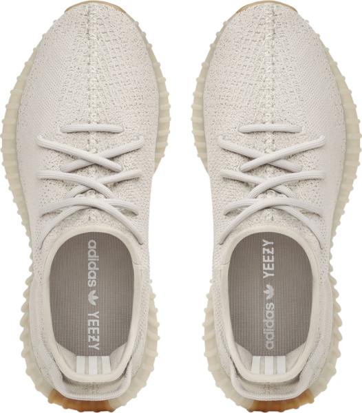 Yeezy Boost 350 V2 Light Grey Ivory And Gum Sole